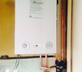 boiler installed in wewlyn garden city