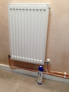Tewin radiator in loft conversion