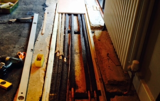 central heating pipes repaired stevenage