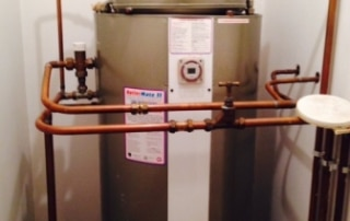 hot water tank oaklands welwyn